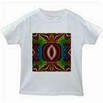 Toxic_Wave-838095 Kids White T-Shirt