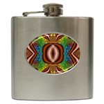 Toxic_Wave-838095 Hip Flask (6 oz)