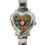 Toxic_Wave-838095 Heart Italian Charm Watch
