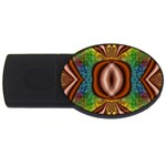 Toxic_Wave-838095 USB Flash Drive Oval (4 GB)