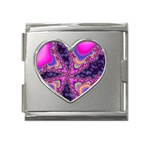 World-of-fun-02-725794 Mega Link Heart Italian Charm (18mm)