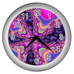 World-of-fun-02-725794 Wall Clock (Silver)