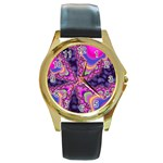 World-of-fun-02-725794 Round Gold Metal Watch