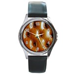 wallpaper_15630 Round Metal Watch