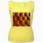 wallpaper_15630 Women s Yellow Tank Top