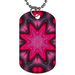 X_Red_Party_Style-777633 Dog Tag (One Side)