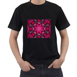 X_Red_Party_Style-777633 Black T-Shirt (Two Sides)