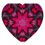 X_Red_Party_Style-777633 Jigsaw Puzzle (Heart)