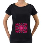 X_Red_Party_Style-777633 Maternity Black T-Shirt