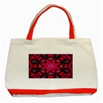 X_Red_Party_Style-777633 Classic Tote Bag (Red)