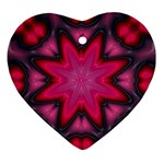 X_Red_Party_Style-777633 Heart Ornament (Two Sides)
