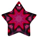X_Red_Party_Style-777633 Star Ornament (Two Sides)