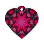 X_Red_Party_Style-777633 Dog Tag Heart (Two Sides)