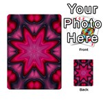 X_Red_Party_Style-777633 Multi-purpose Cards (Rectangle)