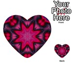 X_Red_Party_Style-777633 Multi-purpose Cards (Heart)