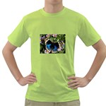 butterfly_4 Green T-Shirt
