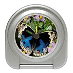 butterfly_4 Travel Alarm Clock