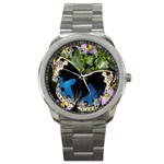 butterfly_4 Sport Metal Watch