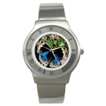 butterfly_4 Stainless Steel Watch