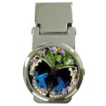 butterfly_4 Money Clip Watch