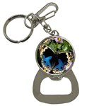 butterfly_4 Bottle Opener Key Chain
