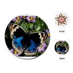 butterfly_4 Playing Cards (Round)