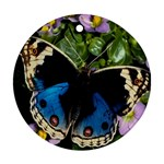 butterfly_4 Round Ornament (Two Sides)
