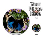 butterfly_4 Multi-purpose Cards (Round)