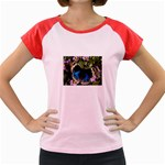 butterfly_4 Women s Cap Sleeve T-Shirt