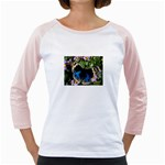 butterfly_4 Girly Raglan