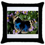 butterfly_4 Throw Pillow Case (Black)