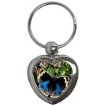 butterfly_4 Key Chain (Heart)