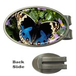 butterfly_4 Money Clip (Oval)