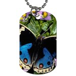 butterfly_4 Dog Tag (One Side)
