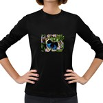 butterfly_4 Women s Long Sleeve Dark T-Shirt