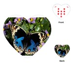 butterfly_4 Playing Cards (Heart)