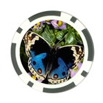 butterfly_4 Poker Chip Card Guard (10 pack)