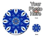 fractal_41 Multi-purpose Cards (Round)