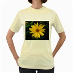 wallpaper_14089 Women s Yellow T-Shirt