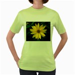 wallpaper_14089 Women s Green T-Shirt