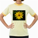 wallpaper_14089 Women s Fitted Ringer T-Shirt