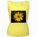wallpaper_14089 Women s Yellow Tank Top