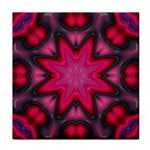 X_Red_Party_Style-777633 Tile Coaster