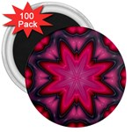 X_Red_Party_Style-777633 3  Magnet (100 pack)