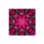 X_Red_Party_Style-777633 Magnet (Square)
