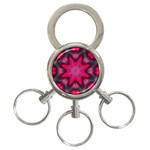 X_Red_Party_Style-777633 3-Ring Key Chain