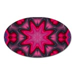 X_Red_Party_Style-777633 Magnet (Oval)