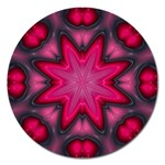 X_Red_Party_Style-777633 Magnet 5  (Round)