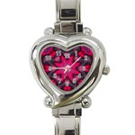 X_Red_Party_Style-777633 Heart Italian Charm Watch