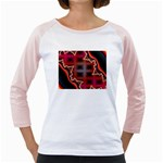 XtrStylez-565483 Girly Raglan